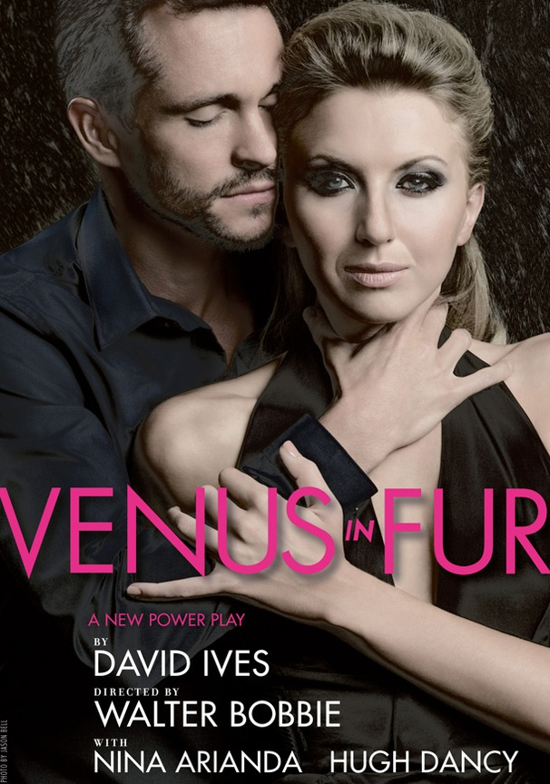 Feel the Heat in Sexy Poster Art of Venus in Fur, Starring Nina Arianda and Hugh Dancy