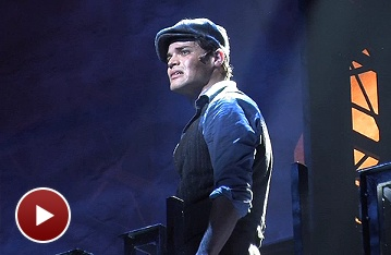 Extra! Extra! Watch Video Footage of Jeremy Jordan and the Cast of Newsies