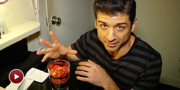 Tony Yazbeck Dishes On His Dark Chocolate Obsession Backstage at Chicago