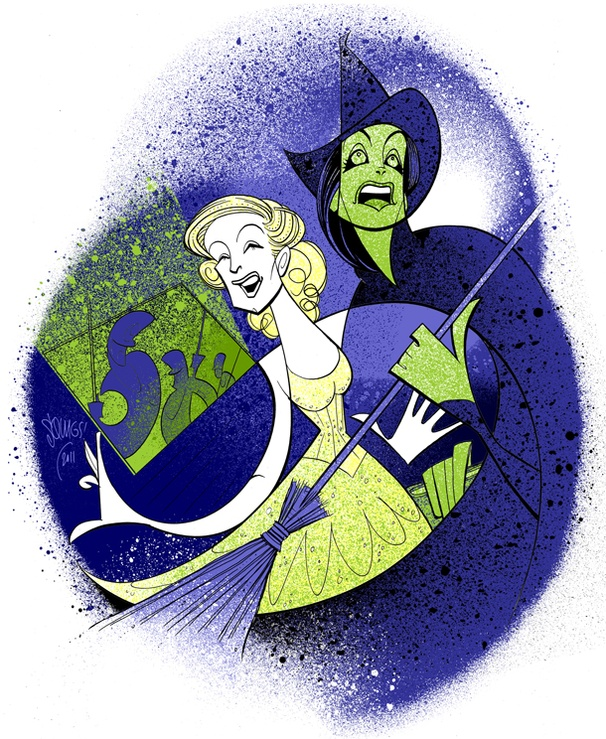 Squigs Salutes Broadway's New Wicked Witches Jackie Burns and Chandra Lee Schwartz
