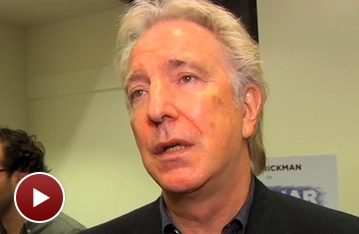 Alan Rickman & His Seminar Students Preview Their New Broadway Comedy
