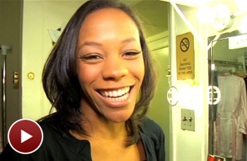 The Book of Mormon's Nikki M. James Shows Off the Toddler Who Guards Her Tony Award