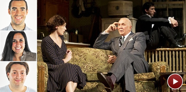 What Did Our Word of Mouth Panel Make of Man and Boy, Starring Frank Langella?