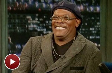 Watch The Mountaintop's Samuel L. Jackson Join Twitter and Play Home Run Derby on Late Night With Jimmy Fallon