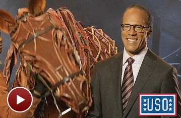See a Special Invitation to War Horse from NBC News Anchorman Lester Holt