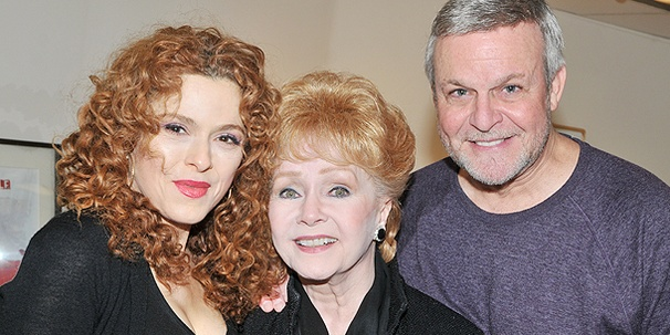 Debbie Does Broadway! Debbie Reynolds Drops In on Bernadette Peters and the Cast of Follies