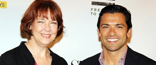 Mark Consuelos, Harriet Harris and the Standing on Ceremony: The Gay Marriage Plays Team Meet the Press