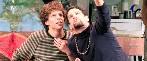 Take a First Look at Jesse Eisenberg in His New Off-Broadway Comedy Asuncion
