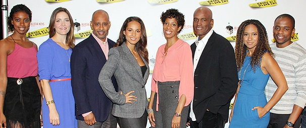 Alicia Keys, Dulé Hill, Tracie Thoms & More Meet the Press and Stir Up Excitement for Stick Fly