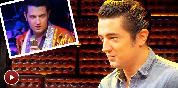Whole Lotta Shakin': The Rock 'n' Roll Icons of 'Million Dollar Quartet': Eddie Clendening on Hip-Shakin' Hound Dog Elvis Presley