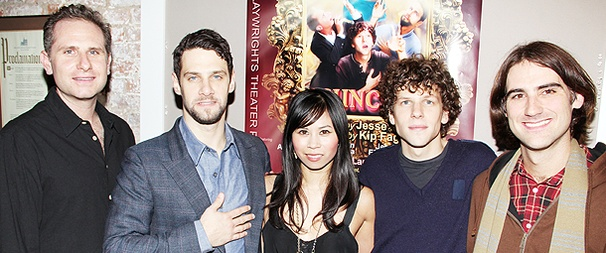 Jesse Eisenberg, Justin Bartha and Co. Celebrate Opening Night of Asuncion
