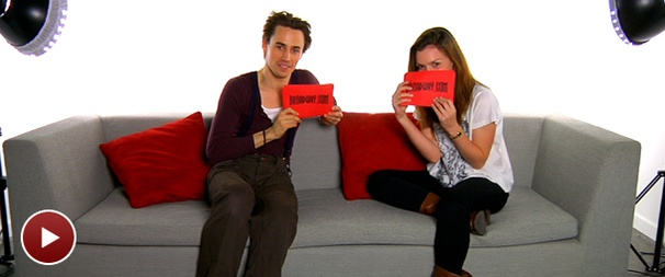 Spider-Man's Reeve Carney and Jennifer Damiano Gush About Twilight, Jeff Buckley and More as They Answer Your Questions