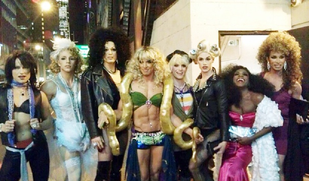Madonna, Britney and Cher, Oh My! Nick Adams and the Men of Priscilla Channel Pop Legends