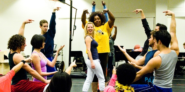 Head Inside Rehearsal with Patti Murin and the Cast of Lysistrata Jones