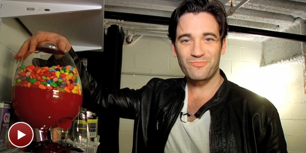 Candy and Booze are Among Anything Goes Star Colin Donnell's Backstage Staples