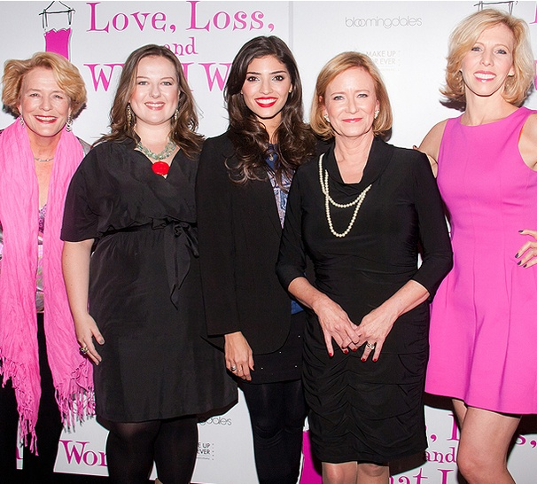 Eve Plumb and Co-Stars Celebrate Opening Night at Love, Loss and What I Wore