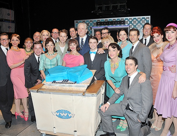 Daniel Radcliffe & Co. Celebrate 250 Broadway Performances in How to Succeed