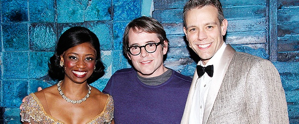 Nice Work! Broadway-Bound Matthew Broderick Checks Out Memphis