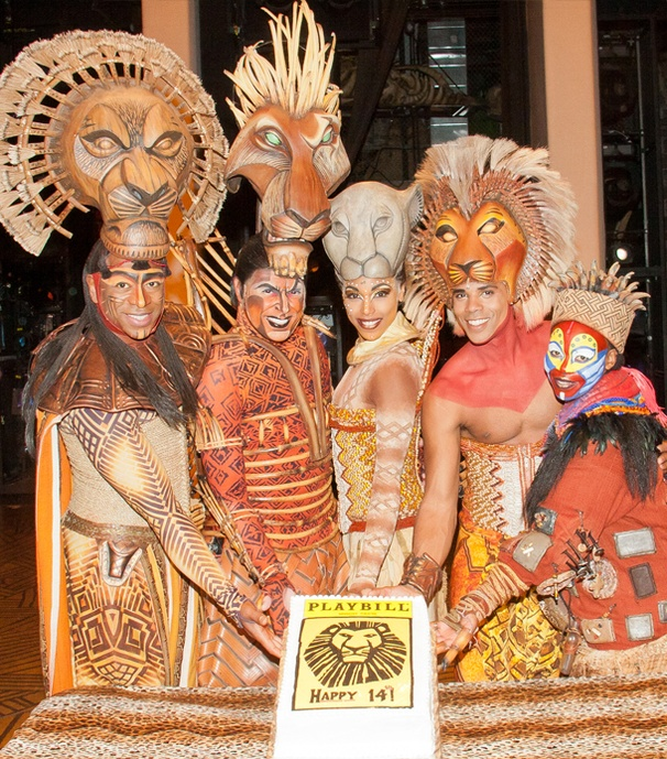 The Lion King Celebrates Its 14th Broadway Birthday