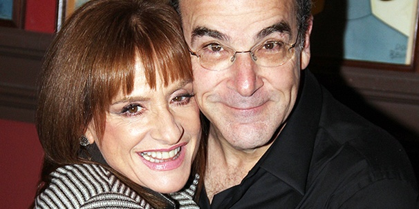 Patti LuPone and Mandy Patinkin Hug It Out as They Prepare to Share a Broadway Evening