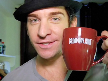 Andy Karl Makes Music & Celebrates Wife Orfeh Backstage at Jersey Boys