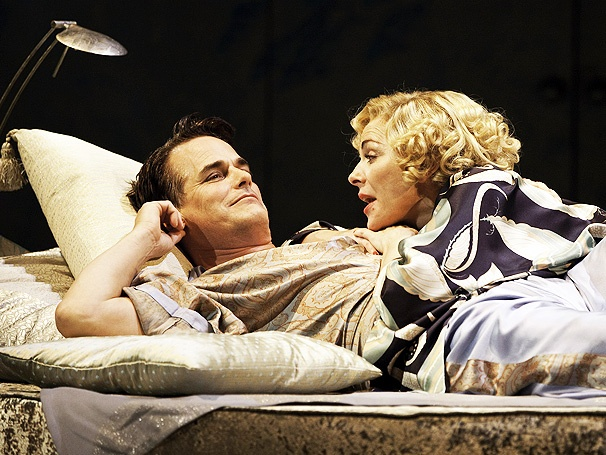 Private Lives, Starring Kim Cattrall and Paul Gross, Opens on Broadway