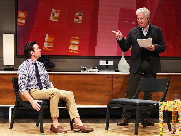 Seminar, Starring Alan Rickman, in Talks to Hit the West End