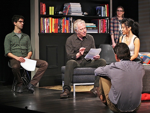 It's Opening Night for Alan Rickman & Co. in Broadway's Seminar