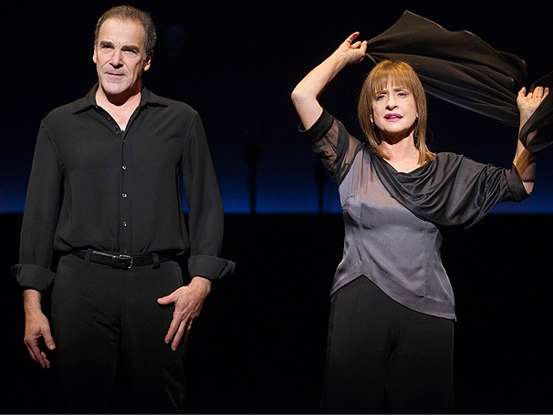 An Evening With Patti LuPone and Mandy Patinkin Opens on Broadway