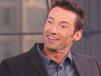 Hugh Jackman Tries His Hand as a Talk Show Host on Anderson