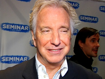 Sign On for an Opening Night Seminar with Alan Rickman, Jerry O'Connell, Rebecca Romijn & More