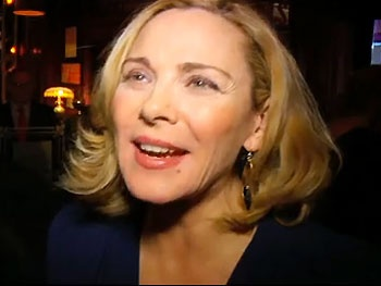 Kim Cattrall and Paul Gross Dish About Fun in the Bedroom on Opening Night of Private Lives