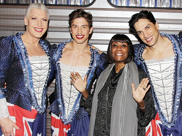 Patti LaBelle Catches the Aussie Action at Priscilla Queen of the Desert