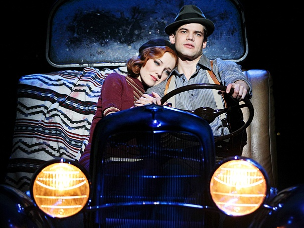 Bonnie & Clyde Bursts onto Broadway on Opening Night