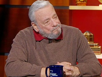 Stephen Sondheim Dishes on Company, Assassins & More on The Colbert Report
