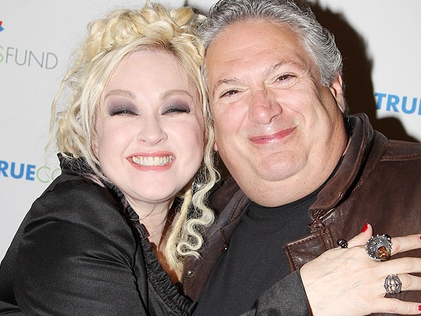 Walk This Way! Kinky Boots Collaborators Cyndi Lauper and Harvey Fierstein Team Up at Home for the Holidays