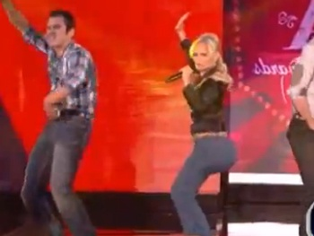 Baby Got Back! Kristin Chenoweth Shows Off Her 'Honky Tonk Badonkadonk' at the American Country Awards
