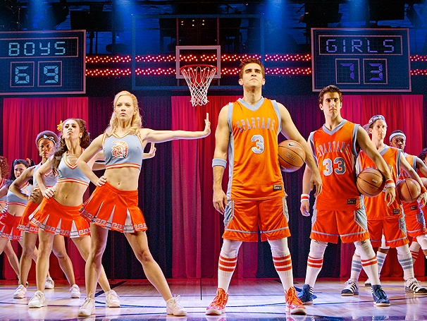 Get a Court Side First Look at Broadway's Lysistrata Jones