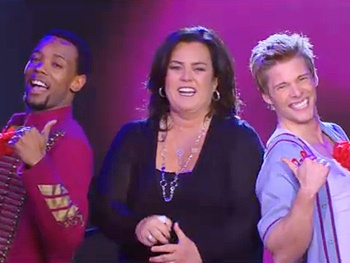 Watch Rosie O'Donnell Join the Cast of Godspell to Sing 'All for the Best'
