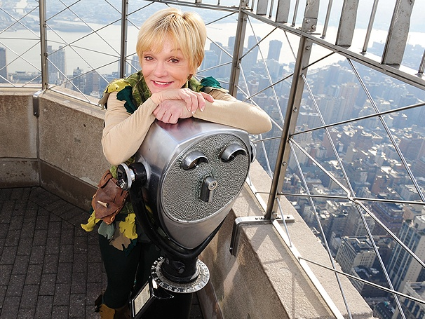 From Neverland to New York, Peter Pan Star Cathy Rigby Lands at the Empire State Building