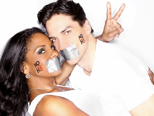 Broadway Sweethearts Audra McDonald and Will Swenson Get Close for Marriage Equality