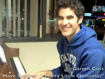 Broadway Holiday Flashback! How to Succeed and Glee Star Darren Criss Wishes Fans 'A Merry Little Christmas'