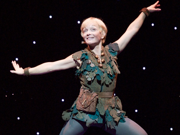 Peter Pan, Starring Cathy Rigby, Takes Flight on Opening Night