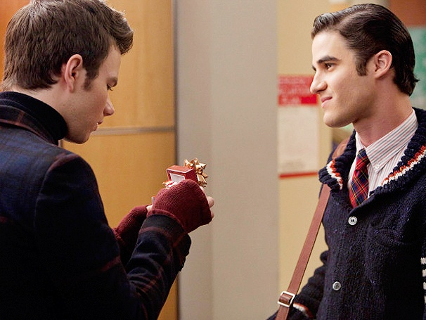 Glee Does Christmas! Hear Darren Criss and Chris Colfer Sing 'White Christmas' & More