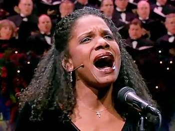 Broadway Holiday Flashback! Watch Audra McDonald and the Mormon Tabernacle Choir 'Deck the Halls'