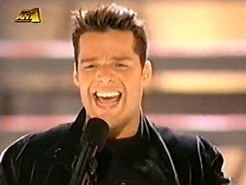 Broadway Holiday Flashback! Evita's Ricky Martin Exclaims 'Ay, Ay, Ay, It's Christmas!'