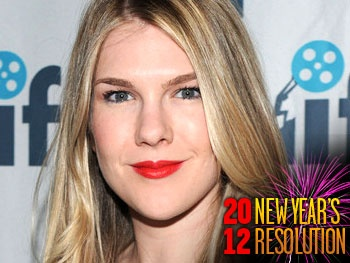 Seminar Star Lily Rabe Vows to Stay in Top Financial Shape in 2012