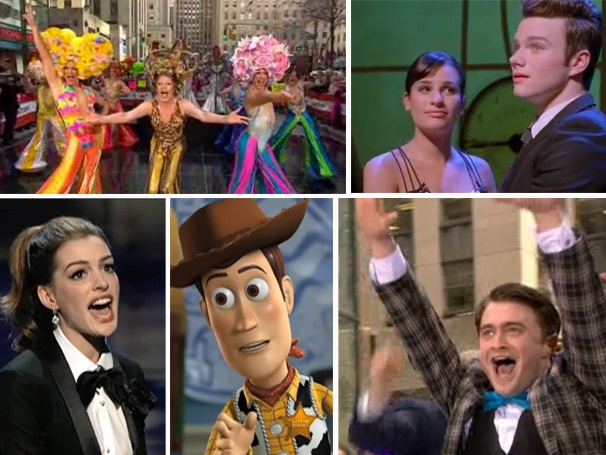 Glee Moments, Oscar Highlights and a Radcliffe Performance Rank as Favorite 'Watch It' Clips