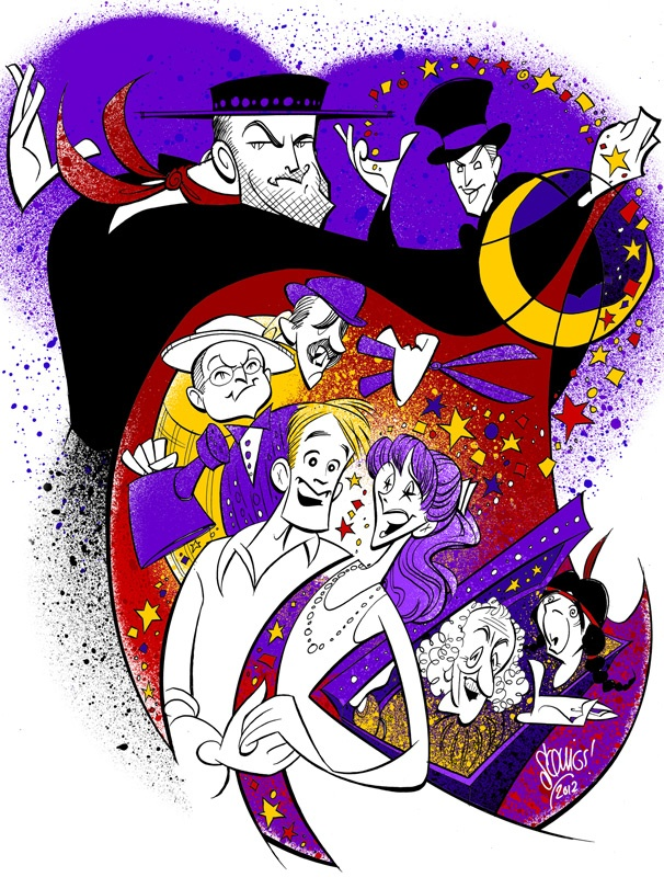 Squigs Pens a Whimsical Portrait of Aaron Carter & Company in The Fantasticks