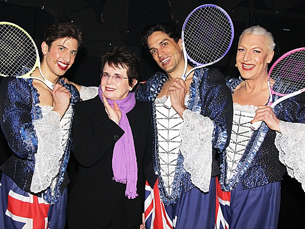 She Loves the Nightlife! Tennis Legend Billie Jean King Visits Priscilla Queen of the Desert